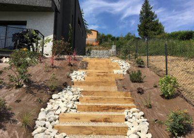 paysagiste escalier