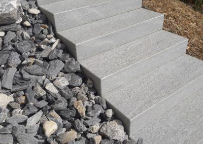 escalier jardin professionnel